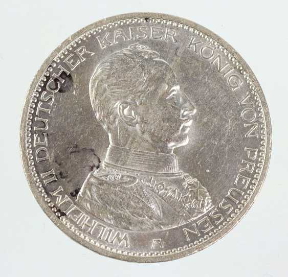 5 Mark Wilhelm II Prussia 1914A - photo 1