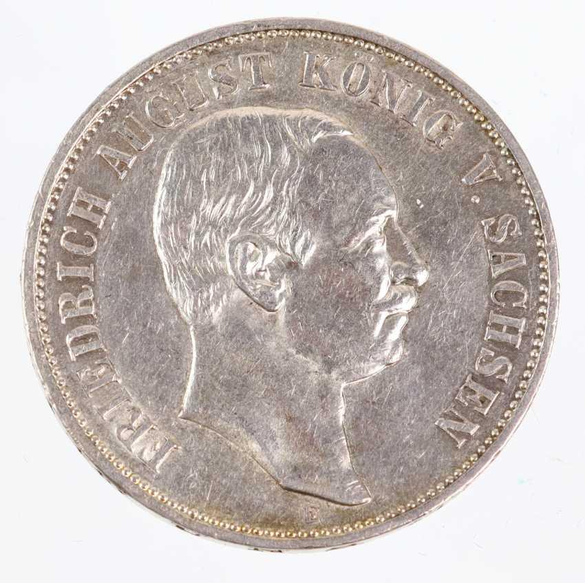 5 Mark Friedrich August of Saxony in 1908, E - photo 1