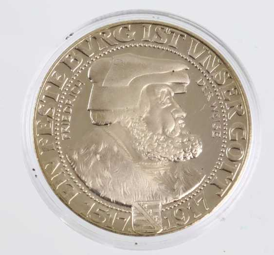 3 Reichsmark Friedrich the wise, 1917 - photo 1