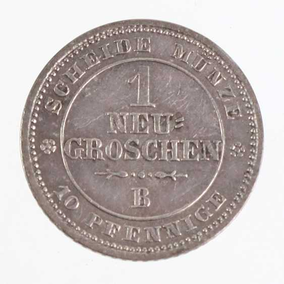 1 new coin Saxony 1863B - photo 1