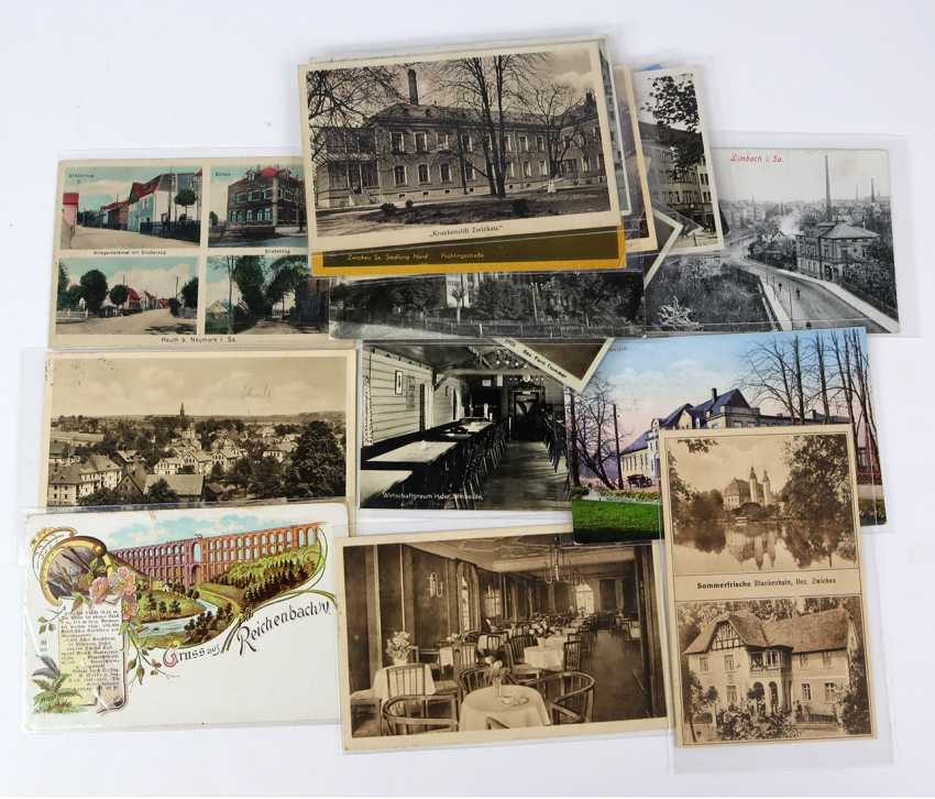 20 postcards Saxony 1917/62 - photo 1