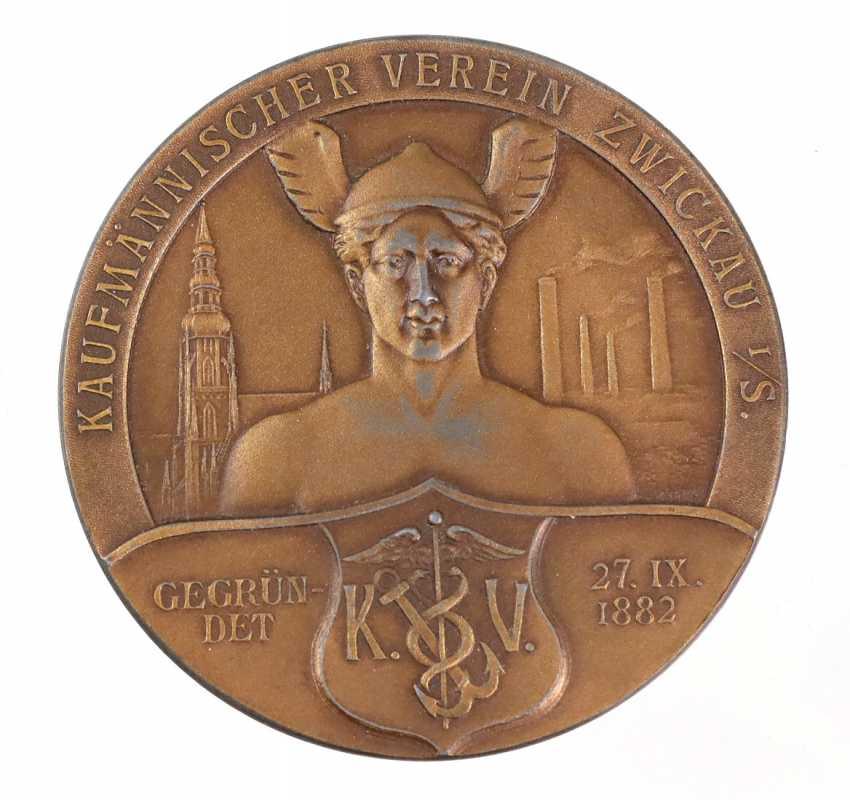 Bronze medal Zwickau 1882 - photo 1