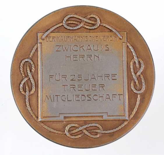 Bronze medal Zwickau 1882 - photo 2