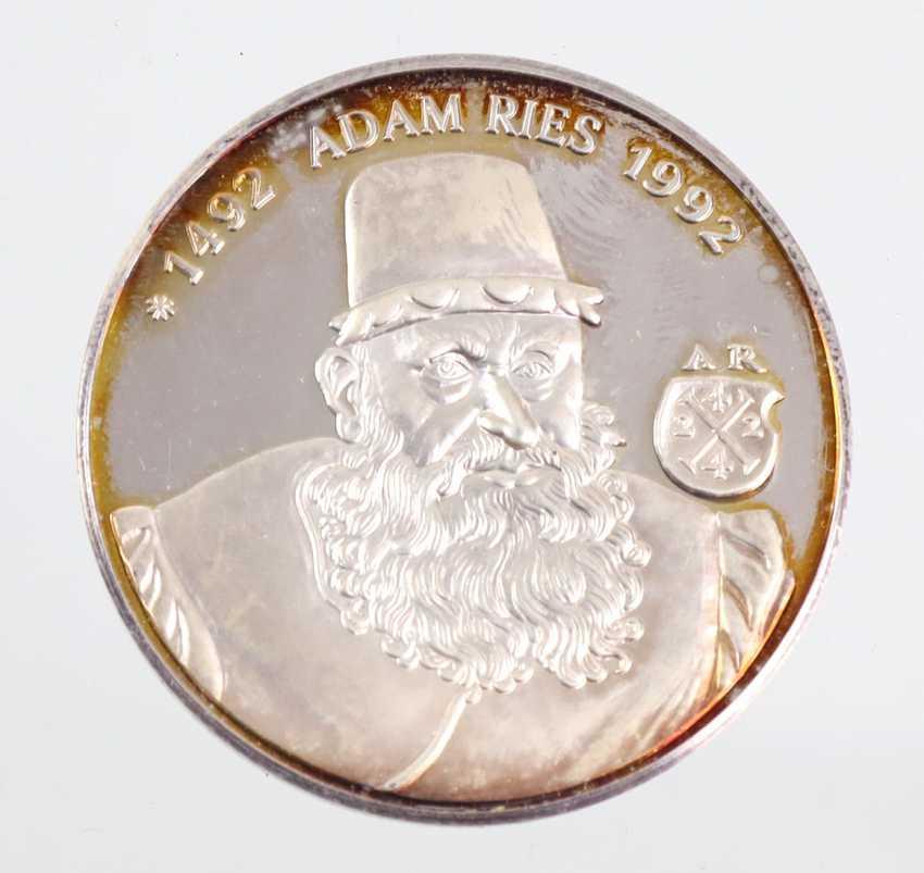 Medal Annaberg Adam Ries - photo 1