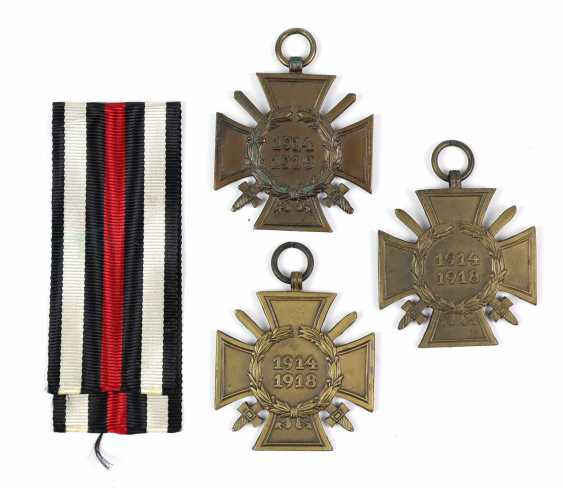 3 front fighters honor crosses - photo 1