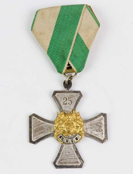 Badge of the Saxon Military Association - photo 1