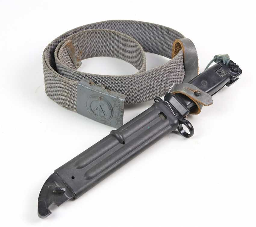 Kalashnikov AK 47 bayonet with belt - photo 1
