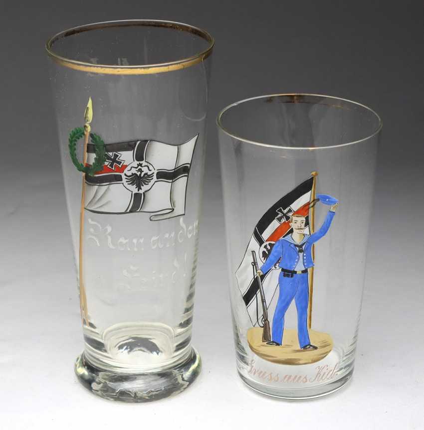 2 patriotic glasses - photo 1