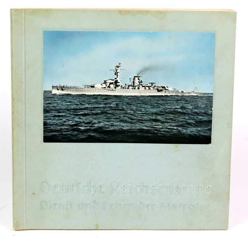 Cigarette album * German Reichsmarine * - photo 1