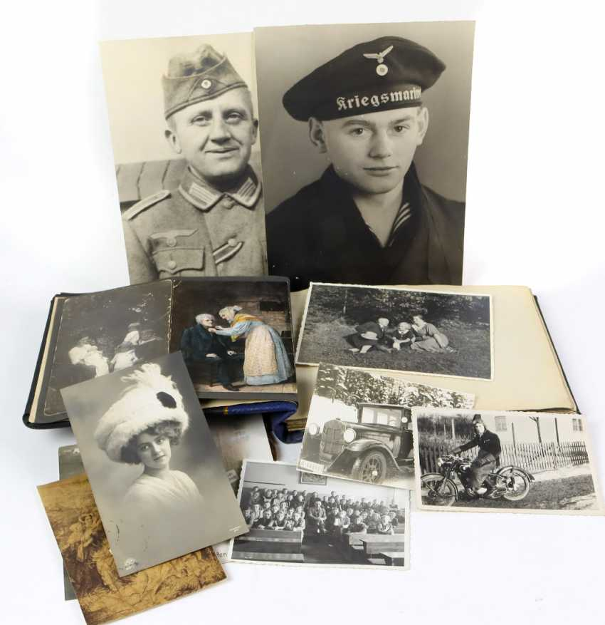 2 large-format military portraits among others - photo 1