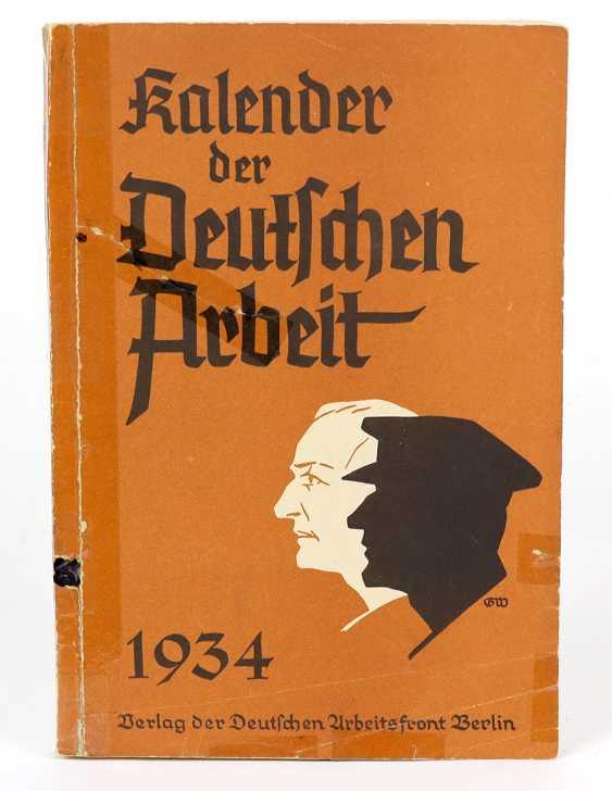 Calendar of German Labor - photo 1