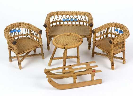 Basket set for the dollhouse - photo 1
