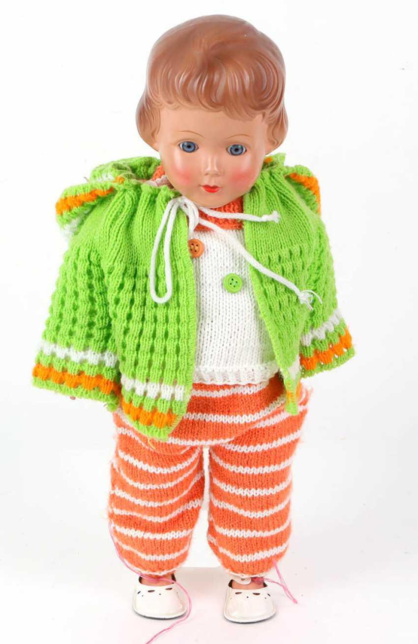 Celluloid doll - photo 1