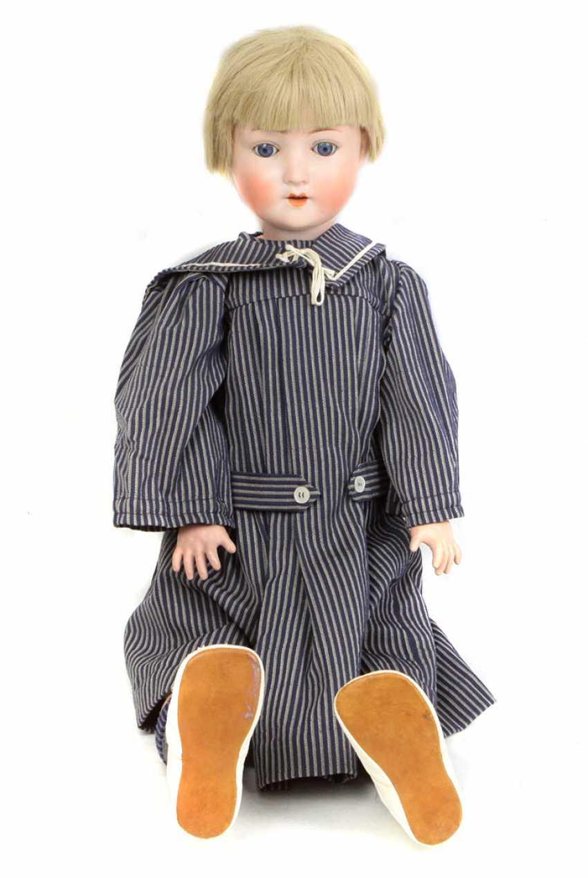 Porcelain head doll - photo 1