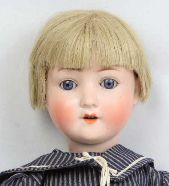 Porcelain head doll - photo 2