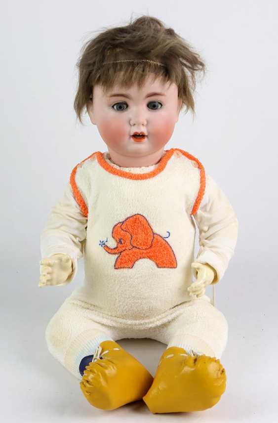 Porcelain head doll * Schützmeister & Quendt * - photo 1