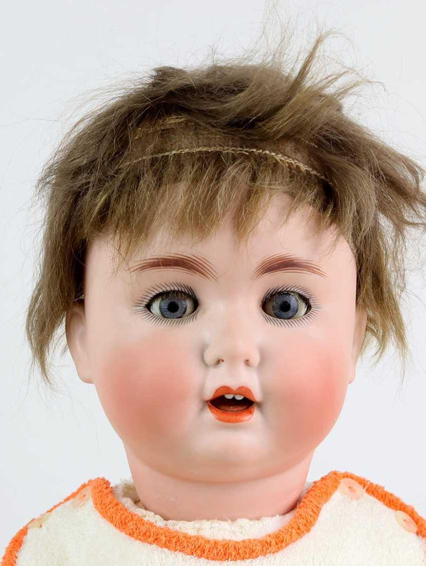 Porcelain head doll * Schützmeister & Quendt * - photo 2