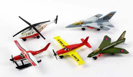 5 Matchbox Modellflugzeuge - photo 1