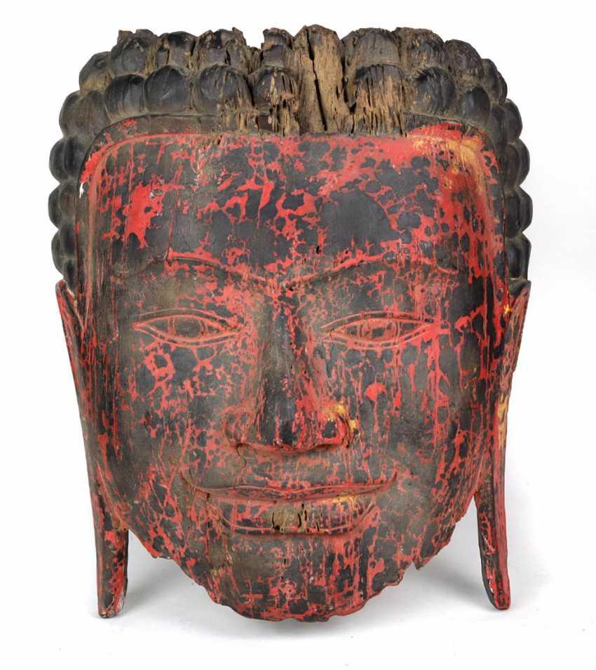 Buddha wall mask 17th century - photo 1