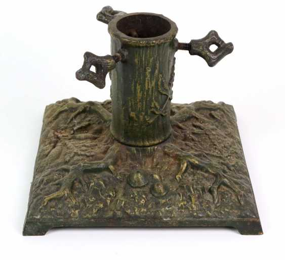 Christmas tree stand around 1920 - photo 1