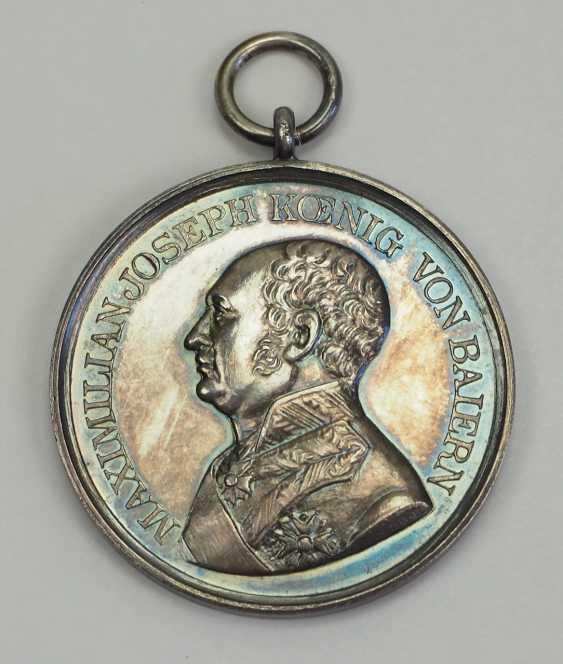 Bavaria: Military Merit Medal, Max Joseph I., in silver. - photo 1
