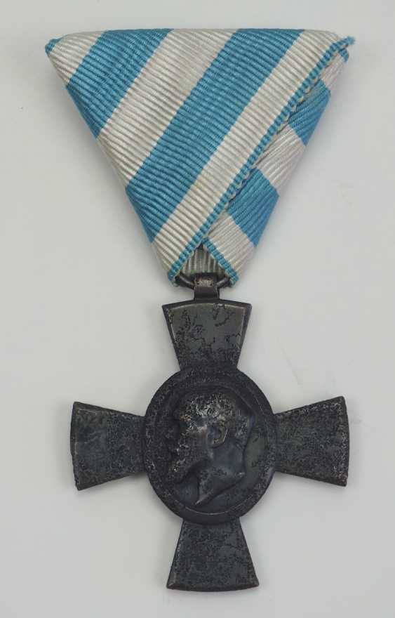 Bavaria: Jubilee cross for the KuK (Hungarian) Infantry Rgt. No. 62 (1918). - photo 1