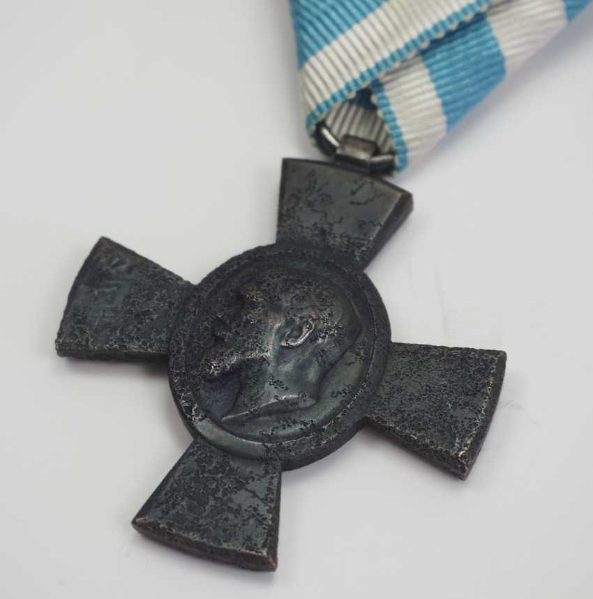 Bavaria: Jubilee cross for the KuK (Hungarian) Infantry Rgt. No. 62 (1918). - photo 2