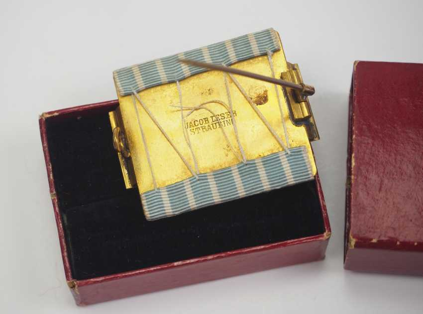 Bavaria: Fire Brigade Decoration, after 25 years of service (1884-1918), in a case. - photo 2