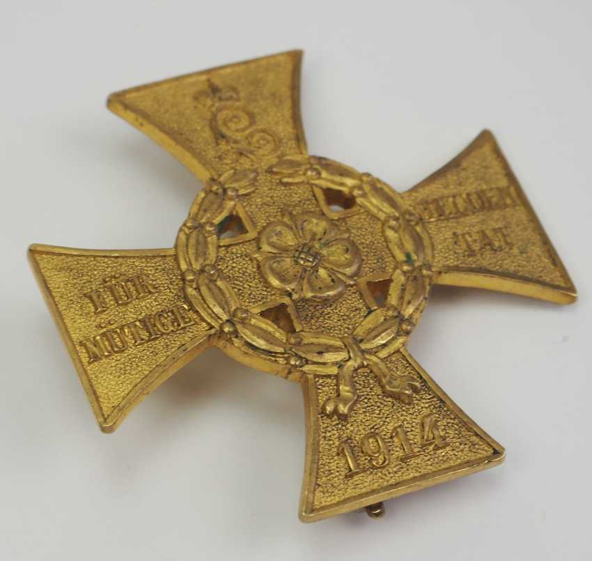 Lippe-Detmold: War Cross of Honor for heroic deed. - photo 2
