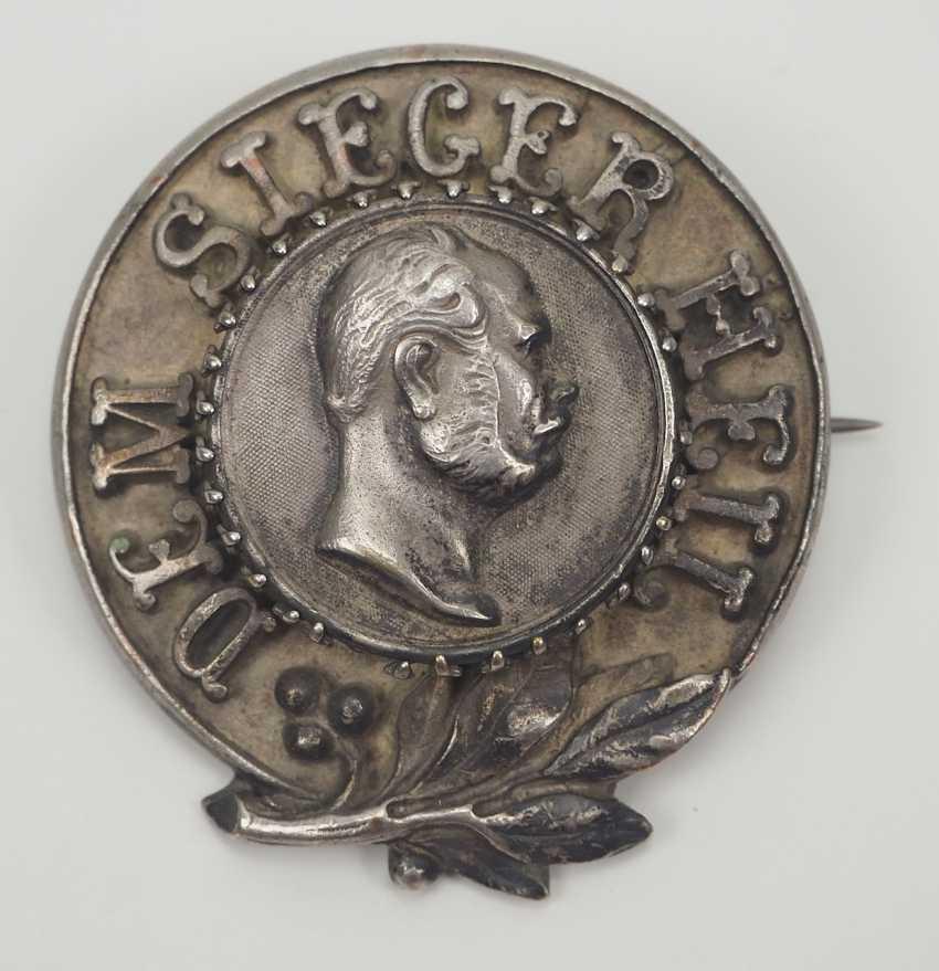 "Prussia: Badge ""Dem Sieger Heil"". - photo 1"