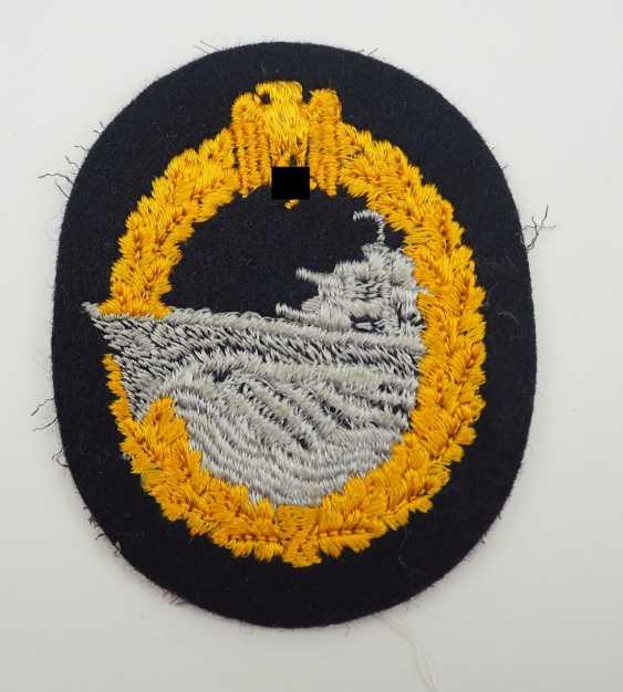 Destroyer War Badge - Fabric. - photo 1
