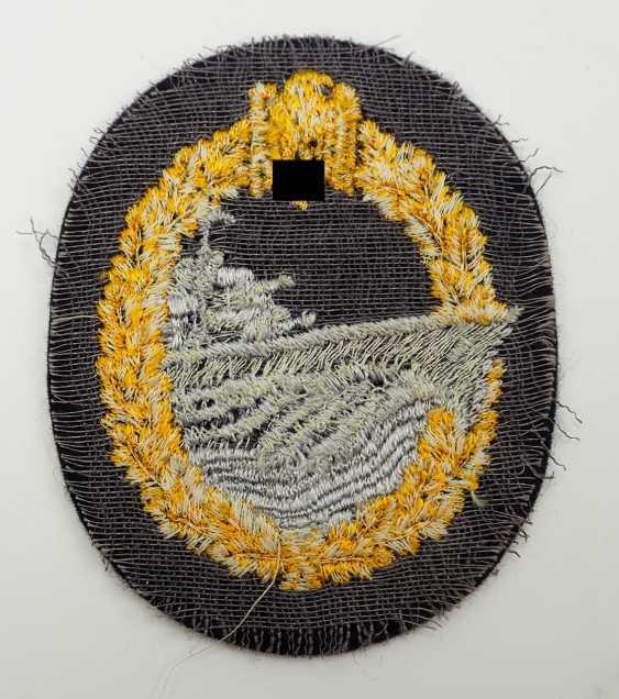 Destroyer War Badge - Fabric. - photo 2