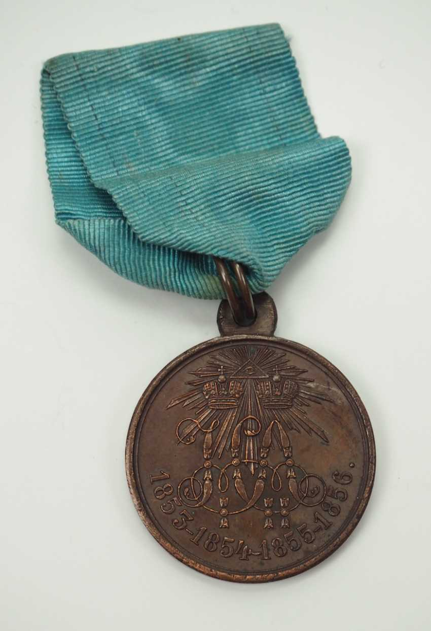 Russia: Medal on the Crimean War of 1853, 1854, 1855 and 1856. - photo 1