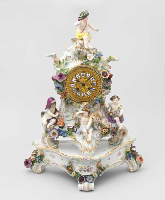 Pendule, Meissen - photo 1