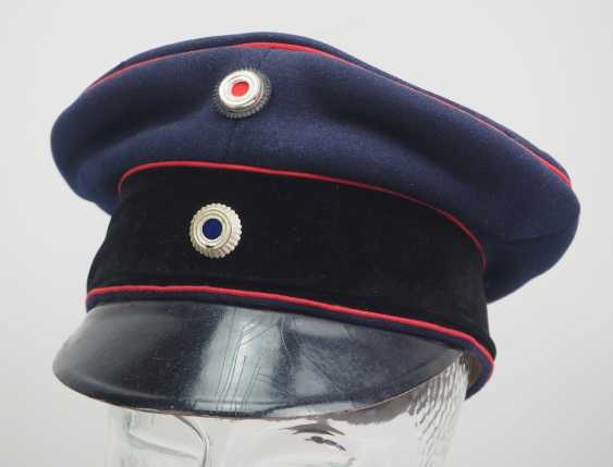 Bavaria: visor cap for officers of the field artillery. - photo 1