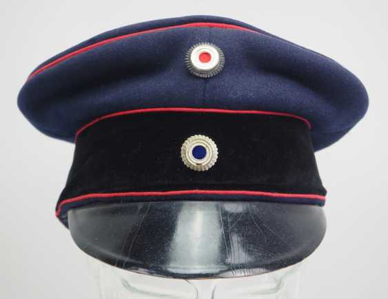 Bavaria: visor cap for officers of the field artillery. - photo 2