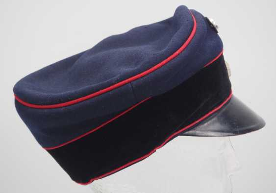Bavaria: visor cap for officers of the field artillery. - photo 3
