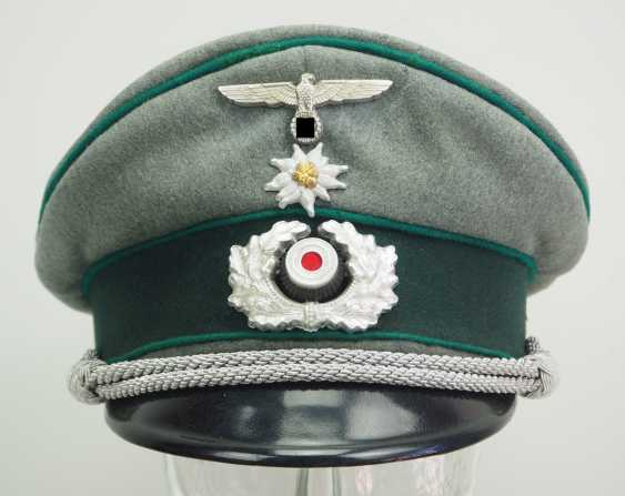 Wehrmacht: peaked cap for officers of the mountain troops. - photo 2