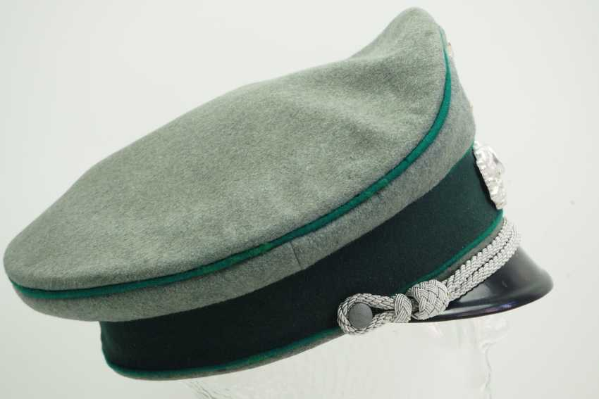 Wehrmacht: peaked cap for officers of the mountain troops. - photo 3