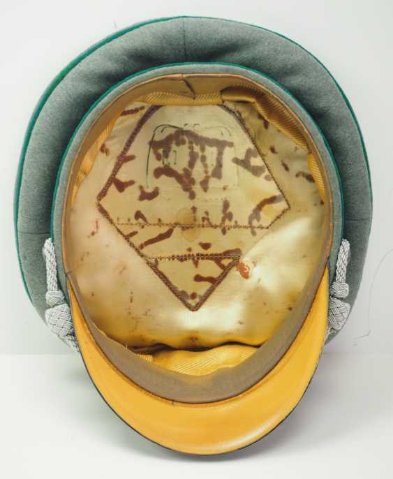 Wehrmacht: peaked cap for officers of the mountain troops. - photo 5