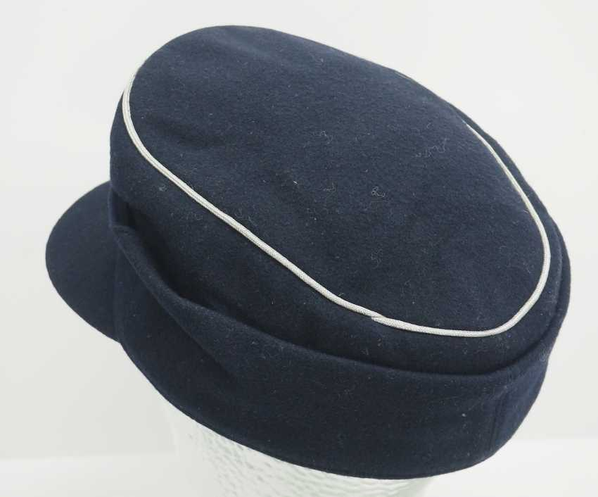 Wehrmacht: M43 field cap for officers of the armored forces. - photo 4
