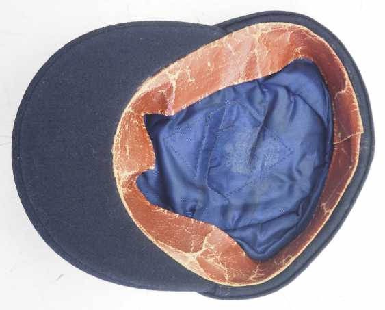 Wehrmacht: M43 field cap for officers of the armored forces. - photo 5