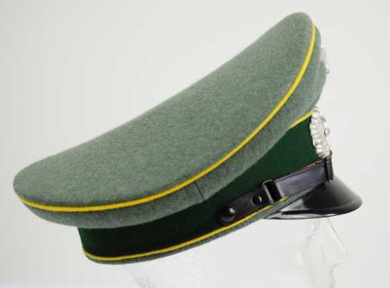 Wehrmacht: visor cap for enlisted men and officers of the intelligence service. - photo 3