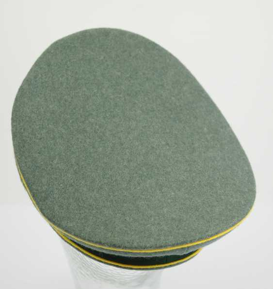 Wehrmacht: visor cap for enlisted men and officers of the intelligence service. - photo 4