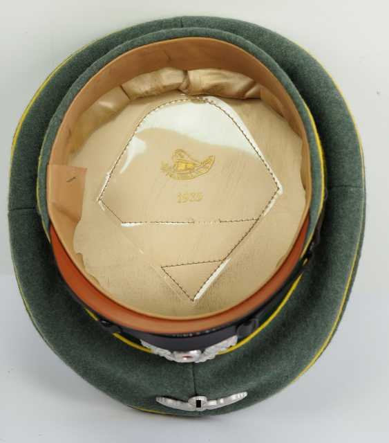 Wehrmacht: visor cap for enlisted men and officers of the intelligence service. - photo 5