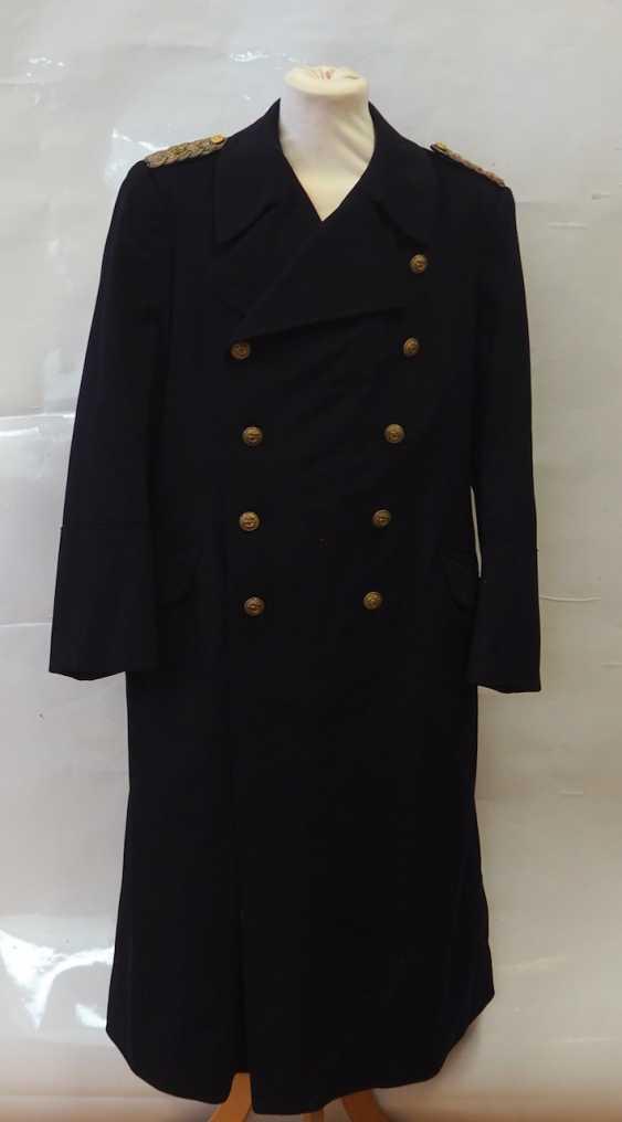 Navy: coat of an administration corvette captain. - photo 1