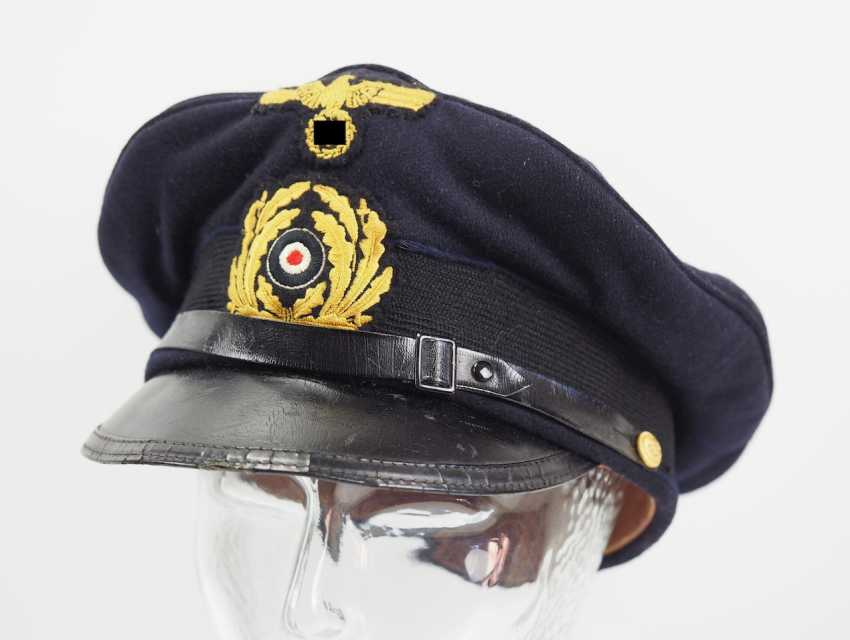 Kriegsmarine: visor cap for portepee sergeants. - photo 1