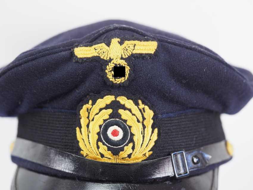 Kriegsmarine: visor cap for portepee sergeants. - photo 2