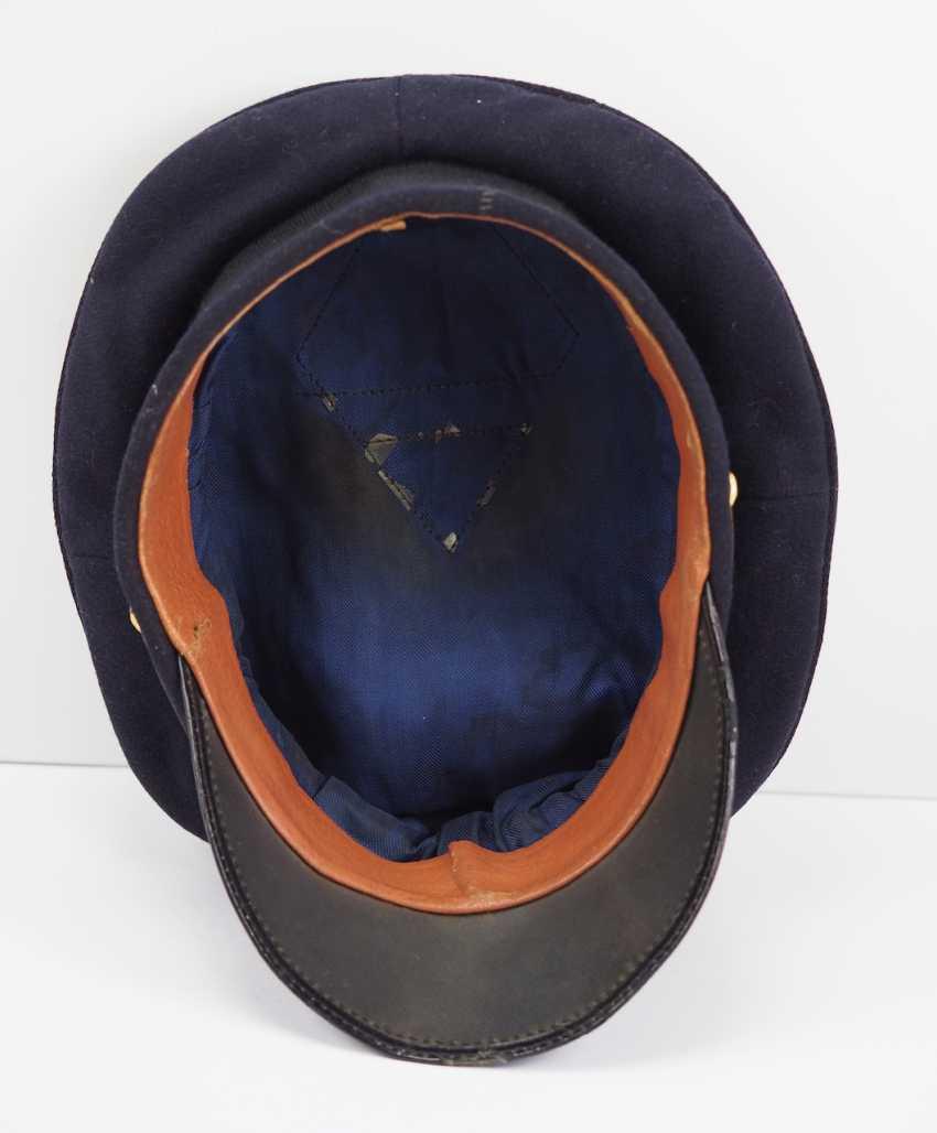 Kriegsmarine: visor cap for portepee sergeants. - photo 5