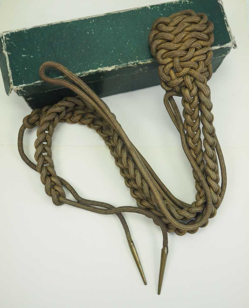 Saxony: armpit sash for generals, in the box. - photo 1